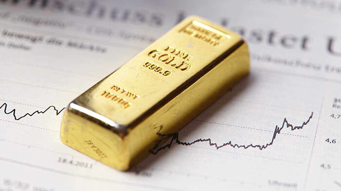 gold bar on charts