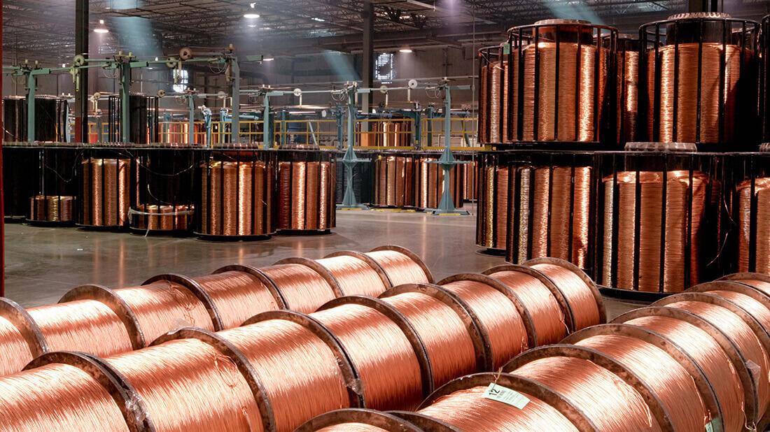 Copper spools image